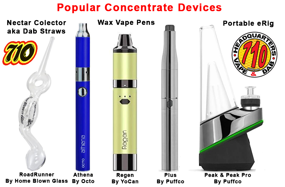 Headquarters popular concentrate devices